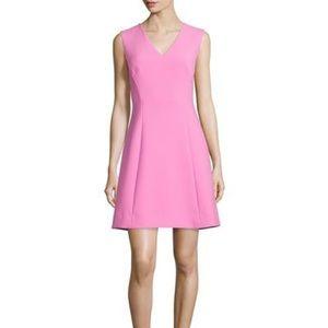 NWT Kate Spade Crepe A-Line Dress Carousel Pink